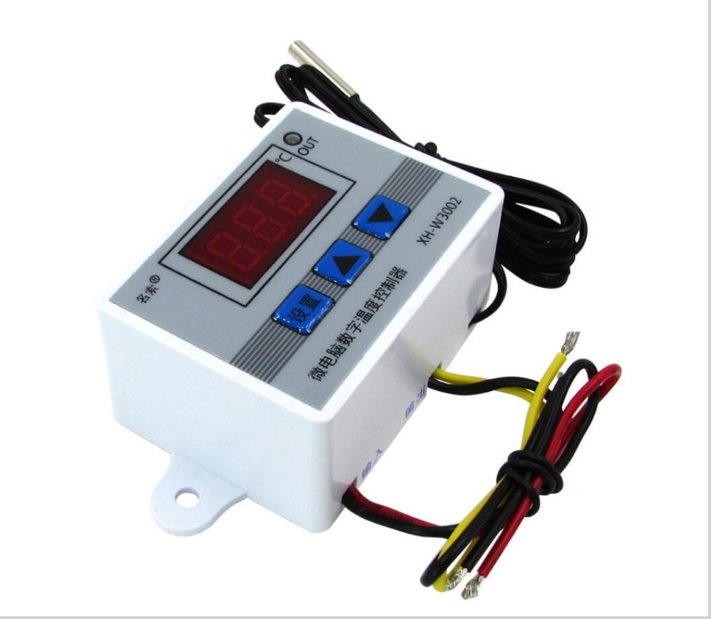12V Digital LED Temperature Controller Thermostat Control Switch Probes FK~1