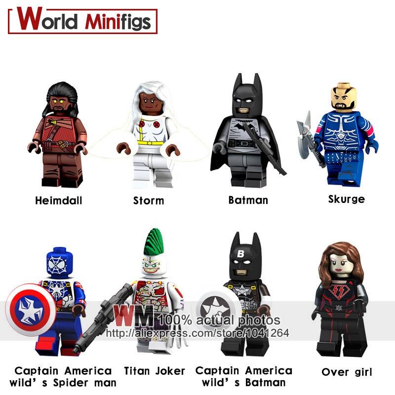 Tmgt Single Sale Dc Super Heroes Movie Batman Kl055 Joker With Big Eye 7780 Building Blocks Bricks Diy Toys Children Kl9008 Toys & Hobbies Blocks