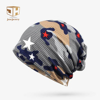 Spring Summer Multi Use Of Collar Scarf And Hats For Men Or Women Camouflage Thin Hip
