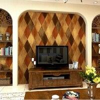 Animais da pele do falso de couro papel de parede com padrões geométricos para sala e quarto 3d papel de parede papel de parede papel de parede