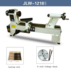 220V750W Stepless Speed Woodworking Lathe Home DIY Multi-function Small Turning Machine with Turning Tool and 6-Inch Chuck