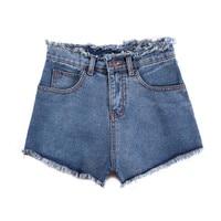 2017 Summer Spring New Hot Women S Jeans High Waist Stretch Denim Shorts Slim Jeans Feminino