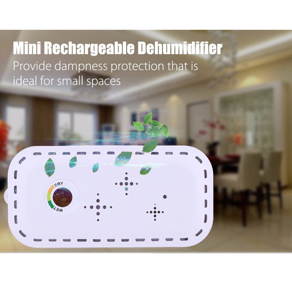 Mini Air Dehumidifier Rechargeable Cordless Dehumidifier Practical Absorbing Moisture Air Dryer for Home Office US and EU plug new top 200 rechargeable mini dehumidifier renewable cordless air dehumidifier absorbing moisture practical air dryer for home