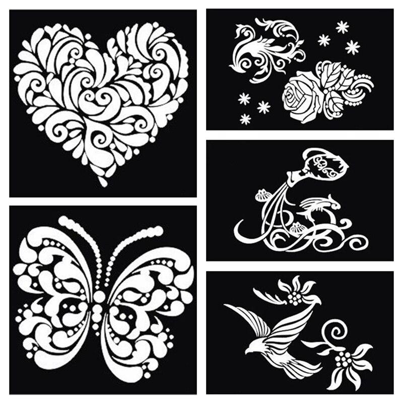 Free dragon stencils reviews online shopping free dragon for Spray on tattoo stencils