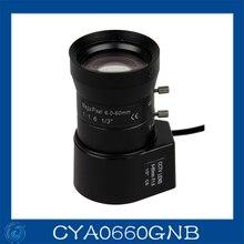 cctv camera lens 6-60mm Auto Iris lens 1/3″ CS F1.4 Free shipping.CYA0660GNB