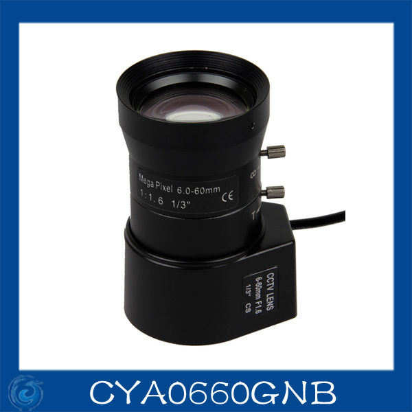 cctv camera lens 6-60mm Auto Iris lens 1/3 CS F1.4 Free shipping.CYA0660GNB как бесконечные патроны в cs 1 6 зомби