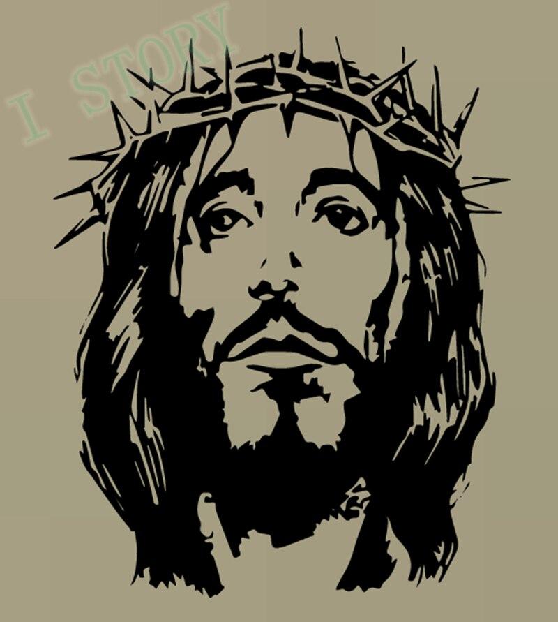 Jesus Wall Art aliexpress : buy jesus christ son of god religious vinyl wall