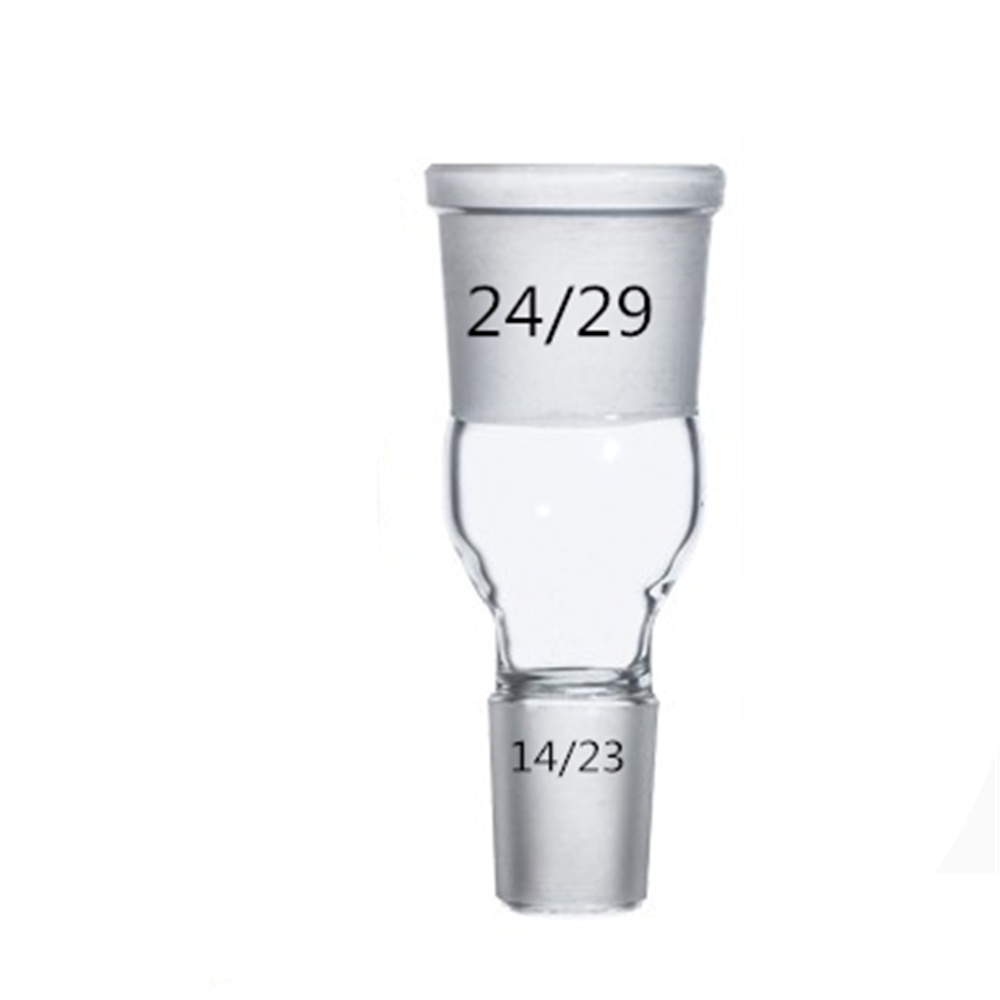 Glass Enlarging Adapter From 14/23 to 24/29,Lab Chemistry Glassware access to chemistry vol iii