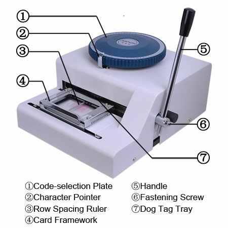 Гарантия 100% новый 52 символов Ручной Собака опресовщик кабеля, ПЭТ опресовщик кабеля, для стального тиснения машина