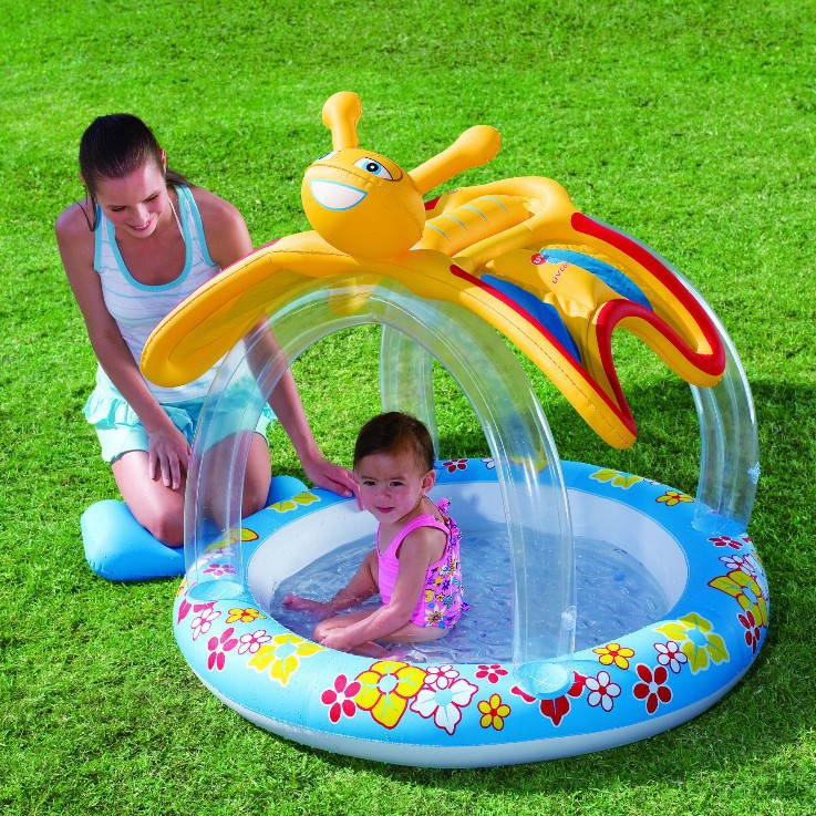 Bestway genuine 52137 butterfly canopy inflatable pool baby bath ball pool b32-in Pool u0026 Accessories from Sports u0026 Entertainment on Aliexpress.com | Alibaba ...  sc 1 st  AliExpress.com & Bestway genuine 52137 butterfly canopy inflatable pool baby bath ...