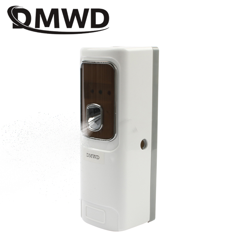 DMWD Automatic Air Freshener Light Sensor Regular Perfume Sprayer Machine Hotel Home Toilet Aerosol Fragrance Dispenser Diffuser