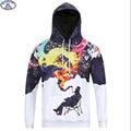 15-20 años niños grandes muchachos sudadera con capucha de marca de diseño especial 3D Graffiti fumadores impreso hip hop con capucha adolescentes niños hoody MH4