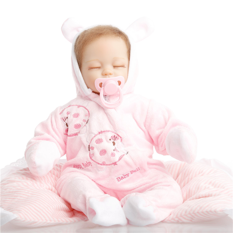18 inch 45cm baby reborn Silicone dolls, lifelike doll reborn babies toys for girl princess gift brinquedos Children's toys 18inch 45cm silicone baby reborn dolls lifelike doll reborn babies toys for girl princess gift brinquedos children s toys