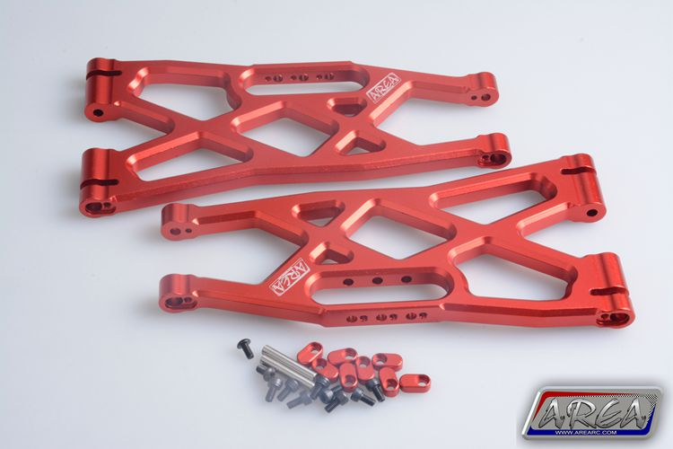 цена на 1/5 rc part Traxxas X-Maxx 4X4 Upgrade Parts Aluminum Suspension Arms Upper (left and right front and rear) L/R