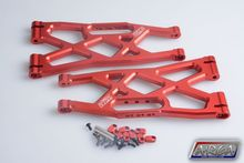 1 5 rc part Traxxas X Maxx 4X4 Upgrade Parts Aluminum Suspension Arms Upper left and