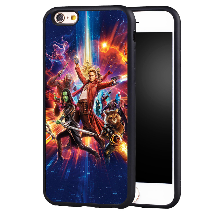 Guardians of Galaxys Vol. 2 Baby Groot soft edge hard back Printed case cover For iPhone 6 6S 6splus