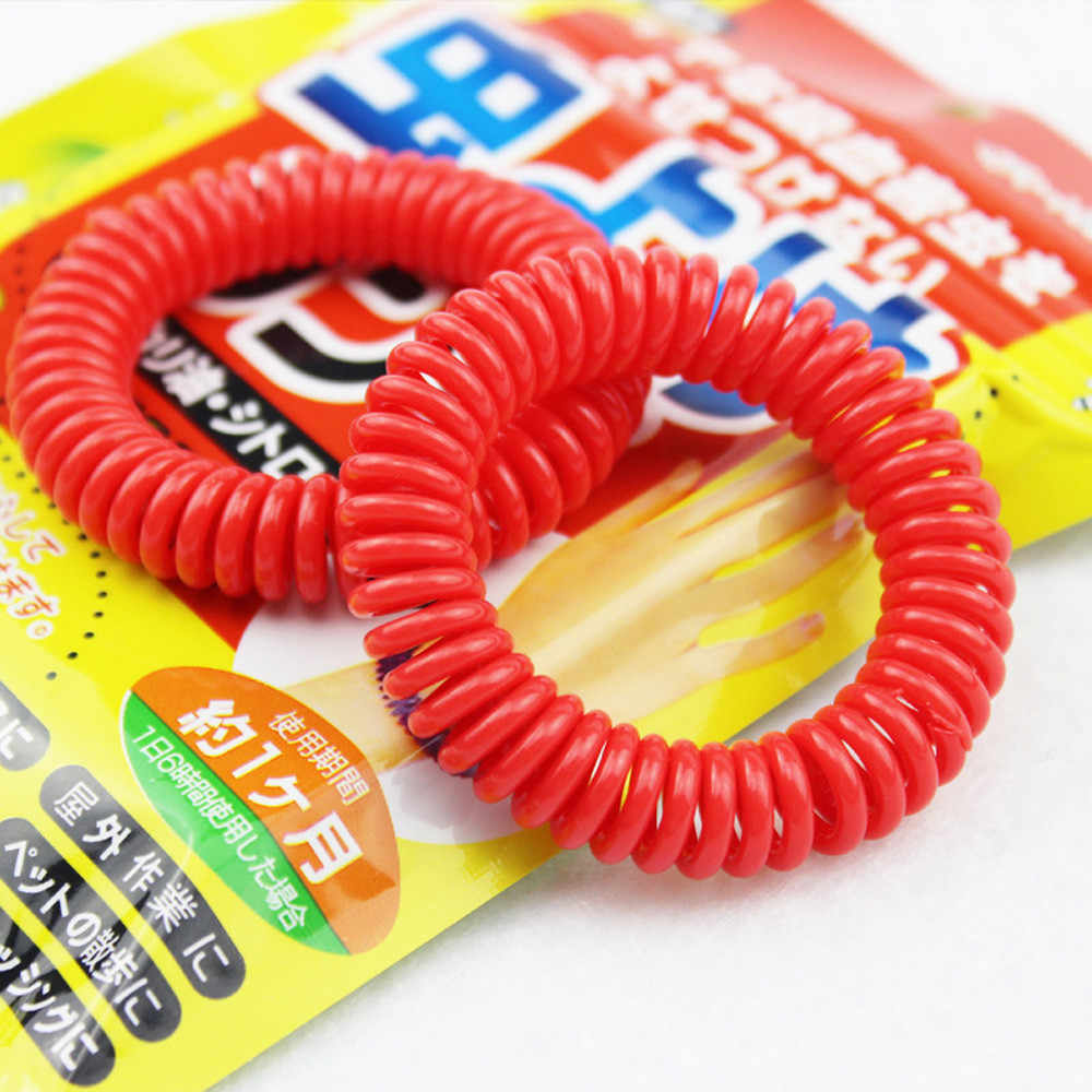 10 PCS Anti Mosquito Insect Repellent Wrist Hair Band Bracelet Camping Outdoor  Dropshipping Apr18