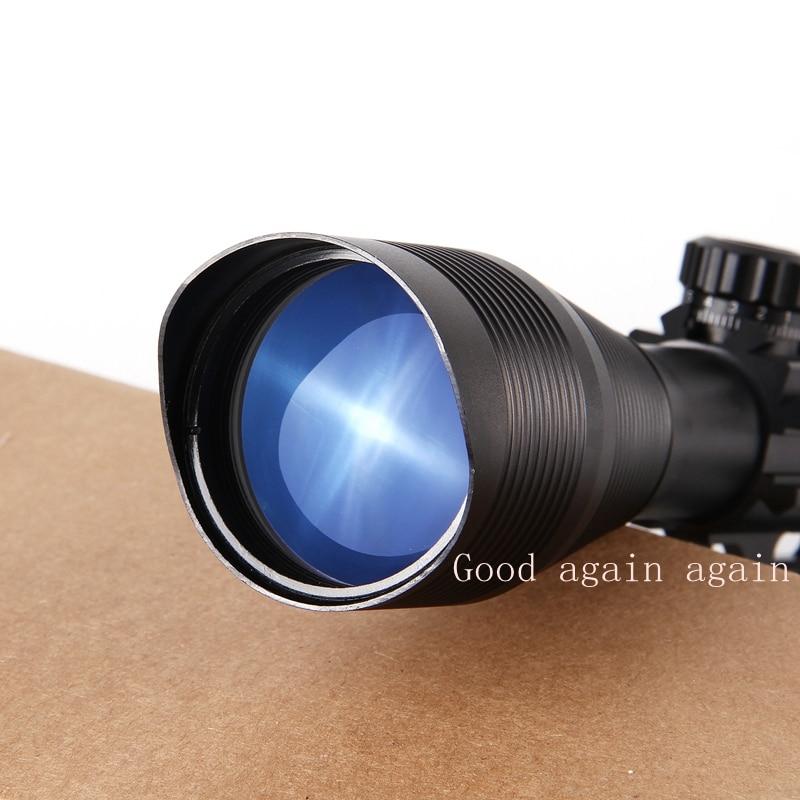 Fusha e pushkës optike 4-12X50 Taktike Optike e Gjelbër e Kuqe - Gjuetia - Foto 2