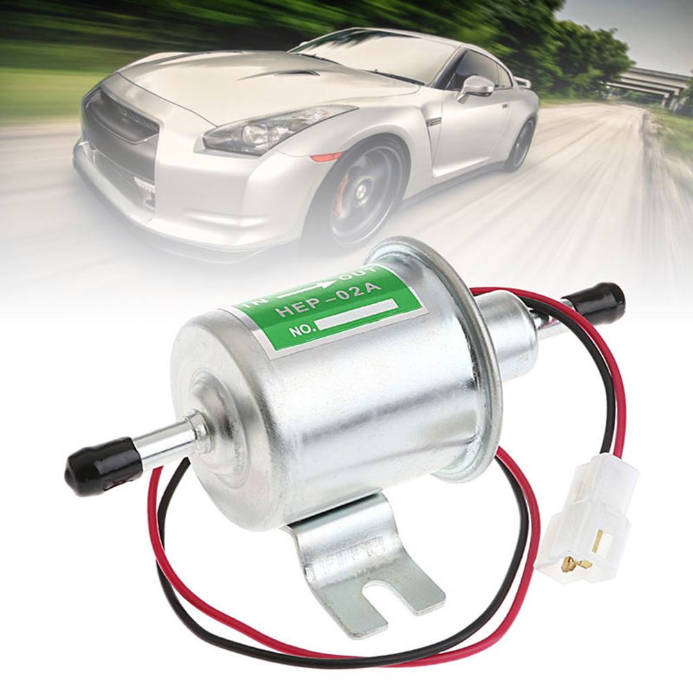 Universal Diesel Petrol Gasoline Electric <font><b>Fuel</b></font> <font><b>Pump</b></font> HEP-02A <font><b>Low</b></font> Pressure 12V