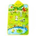 Tapetes de Jogo do bebê Crianças Brinquedos Educativos mat mat para Crianças Animais de fazenda Som Cognitivo Gráfico Jogo de Música Tapete para o Bebê brinquedos
