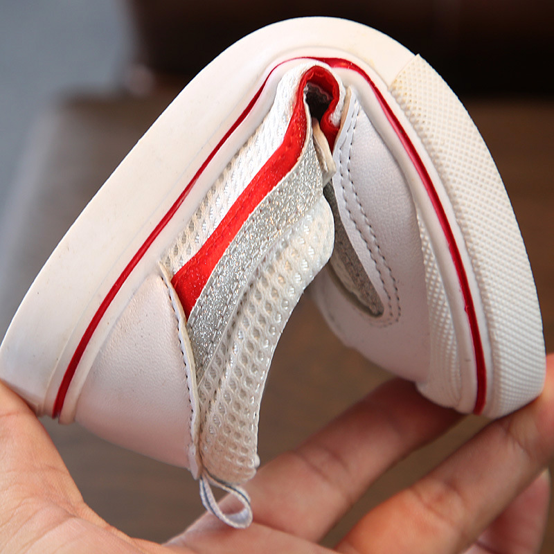 AFDSWG spring and autumn artificial PU leisure kids sneakers boy shoes red casual shoes girls sneakers shoes kids black