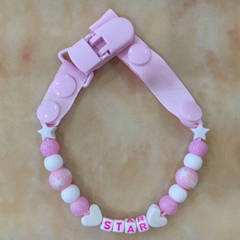 Brustwarzen Brustwarzen Kette der Pacifier Pacifier Clip Holder Soather