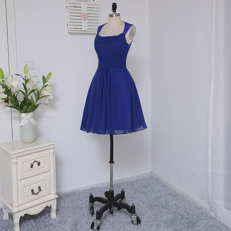 HVVLF 2019 Pigūs nuotakos suknelės iki 50 A linijos trumpo Mini - Suknelės vestuvėms - Nuotrauka 4