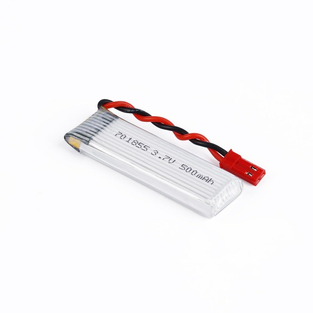 все цены на 5pcs/lot 3.7V 500mAh 25C Lipo Battery Model 701855  with JST Plug for FPV RC онлайн