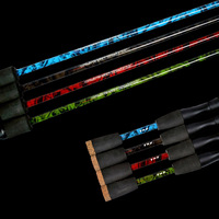 WALK FISH Carbon Spinning Fishing Rod M Power Hand Fishing Tackle Lure Rod Lure Wt:3-21g Casting Rod Canne Spinnng Leurre