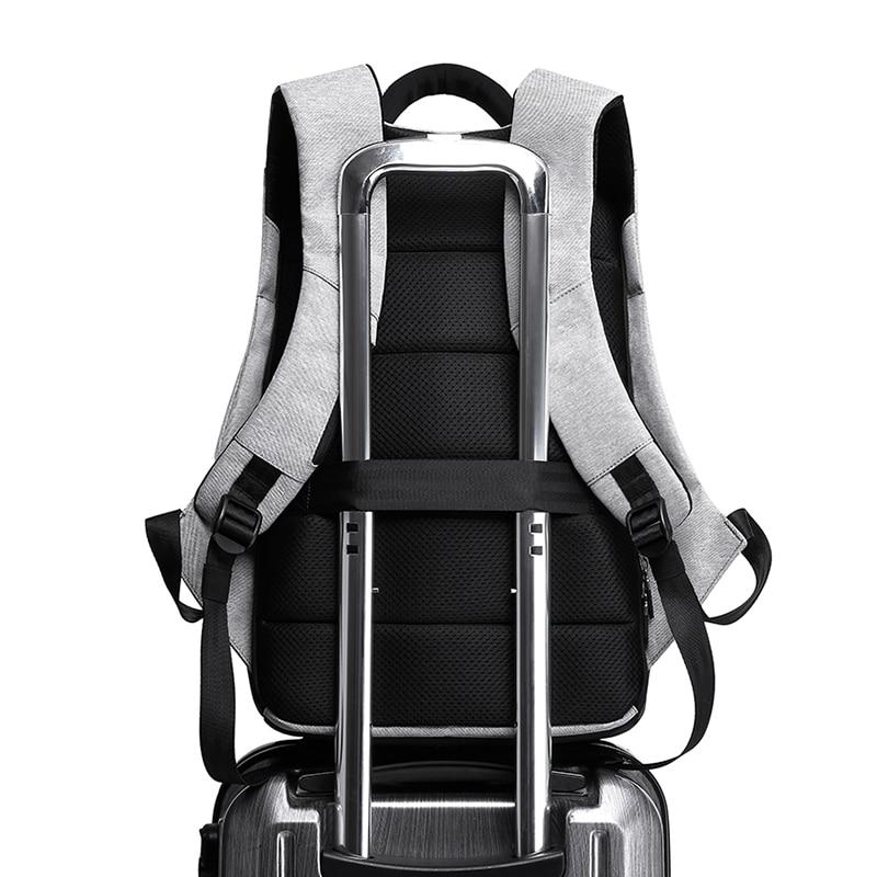 "Image 5 - גברים אנטי גניבה תרמיל 15.6 ""מחשב נייד תרמילי בגיל ההתבגרות תרמיל ילקוט זכר נשים המוצ ילה מים דוחה גדול קיבולת קאקהbackpack businessbackpack fashionbusiness backpack -"