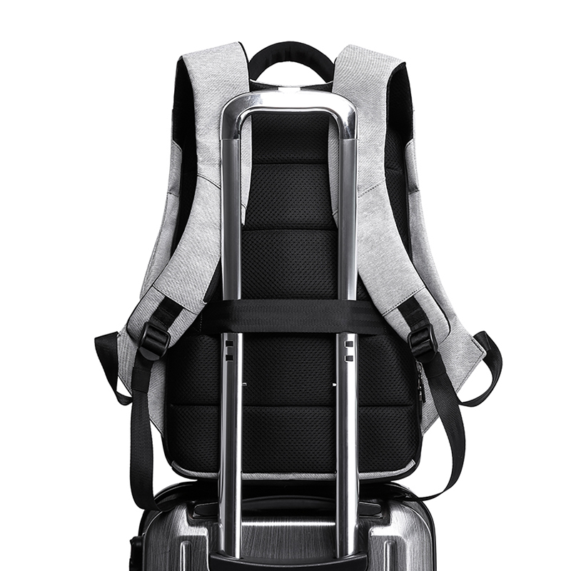 "Kaka Men Anti Theft Backpack 15.6"" Laptop Backpacks Teenage Backpack Schoolbag Male Women Mochila Water Repellent Large Capacity #5"
