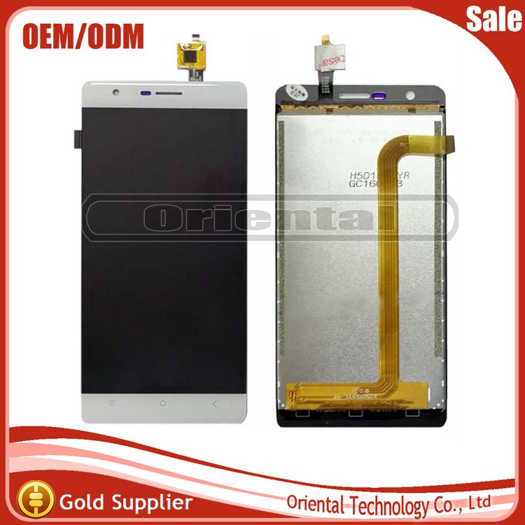 New 5 For Oukitel K4000 LITE Touch Screen Digitizer Sensor + LCD Display Glass Lens Assembly Replacement Parts free shipping