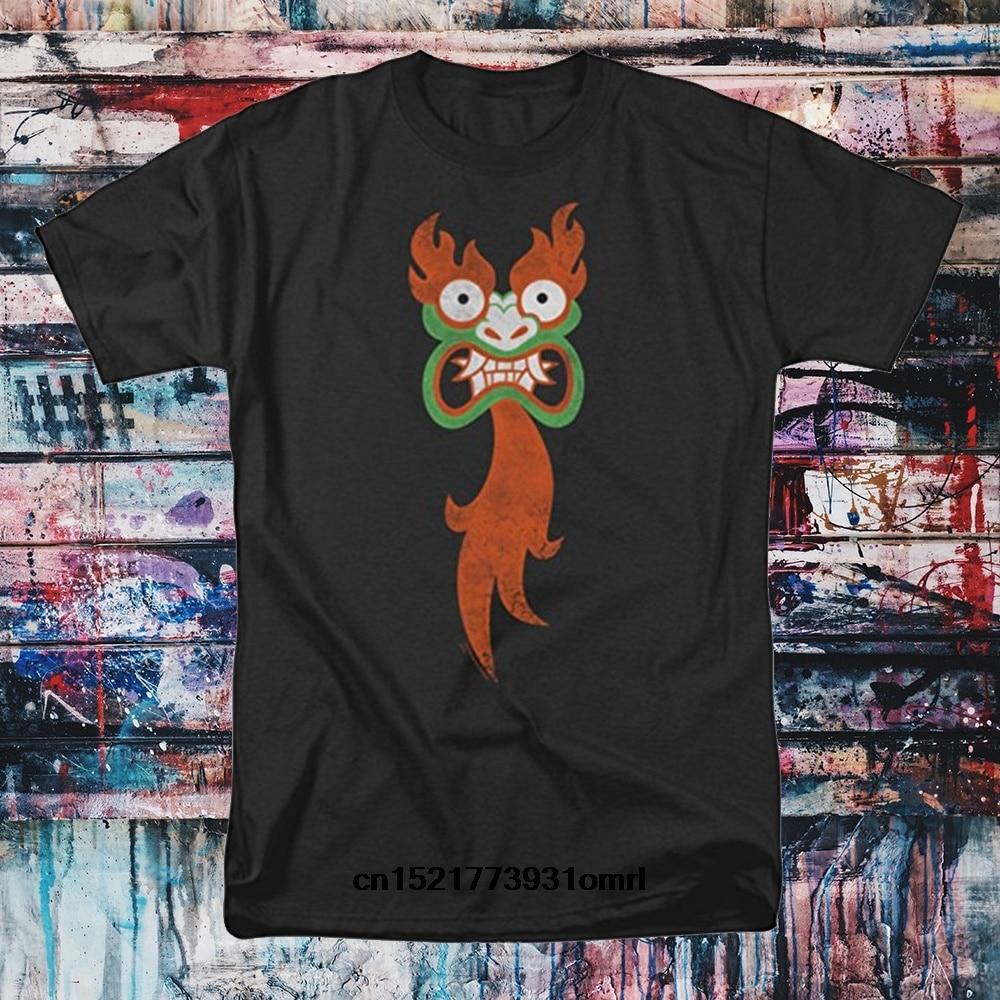 Men T Shirt Samurai Jack Aku Face Summer Fashion Cotton S Black