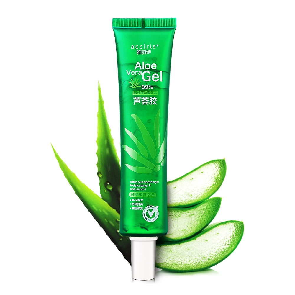 is aloe vera after sun good for acne