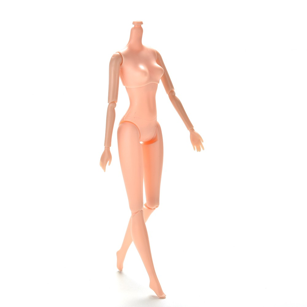 """10.23 /""""Per  Le Jier 1Pc 12Jointed Movable Nude Naked Doll 25cm"""