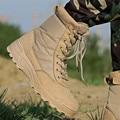 Laite Hebe Zapatos Botas Militares Delta Tactical 2017 Nuevos Zapatos Impermeables Botas SWAT Botas de Combate Del Ejército Al Aire Libre de Senderismo Hombres LH186-4