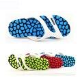 2016 Hot Summer EVA Zapatos de Moda Flip Flop Sandalias de Los Hombres Diapositivas Planos masculinos Zapatillas de Playa de Verano Tamaño 36-45 SM413