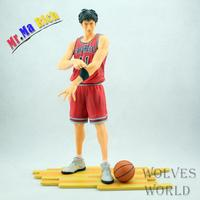 Anime Slam Dunk 24cm Number 11 Rukawa Kaede Pvc Action Figure Collectible Toy Model Brinquedos Christmas