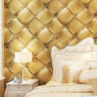 PAYSOTA Luxury Faux Leather 3D Wallpaper For Wall Living Room Wall Paper Roll Background Wallcoverings 4