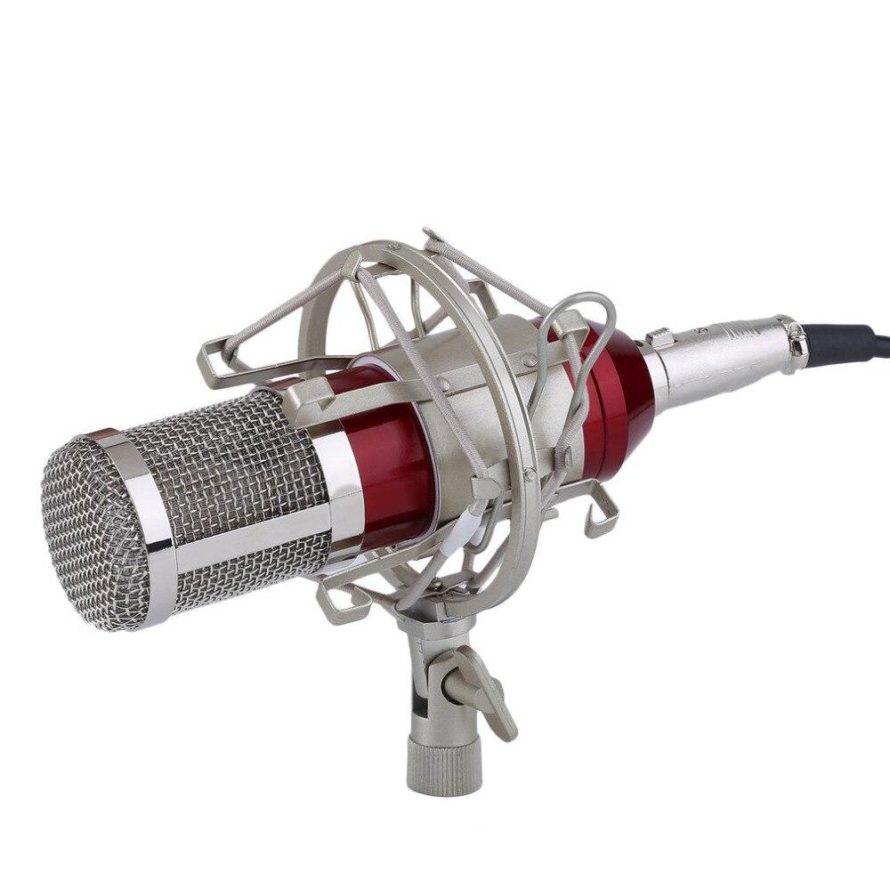 BM 800 Kondensatormikrofon Professionelle 3,5mm jack Verdrahtete ...