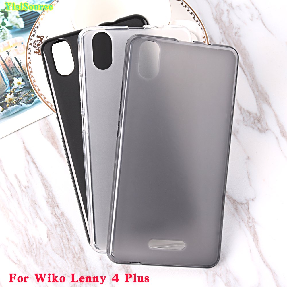 Yisisource Case For Wiko Lenny 4 Plus Case Silicon Tpu Cover Protective Soft Back Case For Coque Wiko Lenny 4 Plus Cover 5 5 Case For Wiko Lenny Case Pluscase For Aliexpress