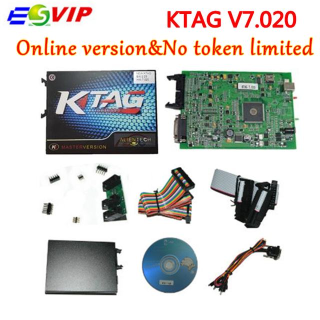 US $61 28 5% OFF New arrival KTAG 7 020 ECU tuning tools Chip KTAG V7 020  V2 23 Master KTAG ecu programer testing tool -in Car Diagnostic Cables &