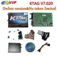 Nova chegada 7.020 ferramentas Chip tuning ECU KTAG KTAG V7.020 V2.23 Mestre KTAG ecu programador ferramenta de teste