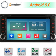 4G 2GB RAM 32GB ROM Android 6.0 Octa Core DAB Car DVD Player Radio For Toyota Rav4 Land Cruiser Terios Rush Highlander Fortuner