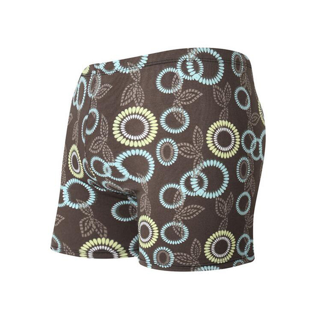 Men Male Sunflower Floral Print Water Swimwear Swim Shorts Swimming Trunks Boxer Pants Swimsuit Briefs Bathing Suit Beach Wear