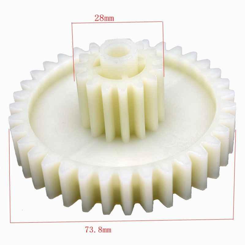 Engranaje de plástico picadora de carne espaà a piñón para HAUSWIRT HMG 303W Vitek Supra Saturno Elbee Delfa Magnit Rolsen Errison