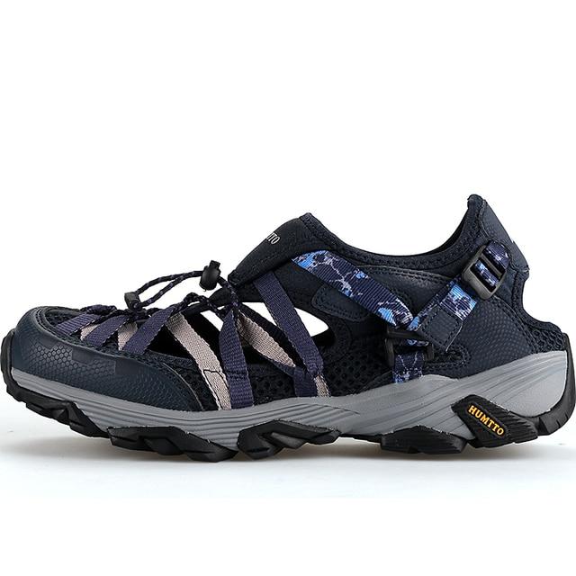 d1a64460d102 Hot Sale Women Men Sandals Outdoor Shoes Mesh Breathable Sport Sandals  Water Shoes Fishing Sneaker Men Hiking Sandals Aqua Shoes