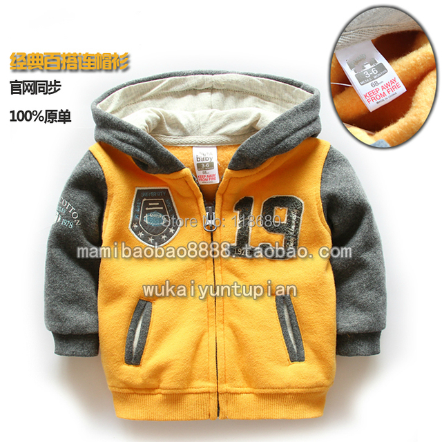 new 2014 Spring autumn children's jackets baby clothing boys outerwear baby boy cardigan casual coat children hoodies jacket