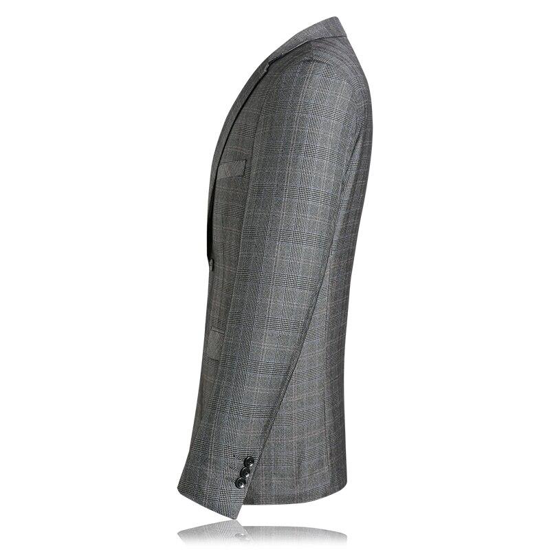 KOLMAKOV 2019, мужские повседневные блейзеры, приталенный, роскошный, для выпускного, пиджак, Homme, Весенняя мода, блейзер для мужчин, блейзер цвета ... - 6