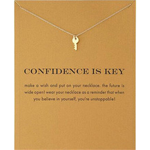 Fashion Key Pendant Necklace For Women Choker Necklaces Jewe